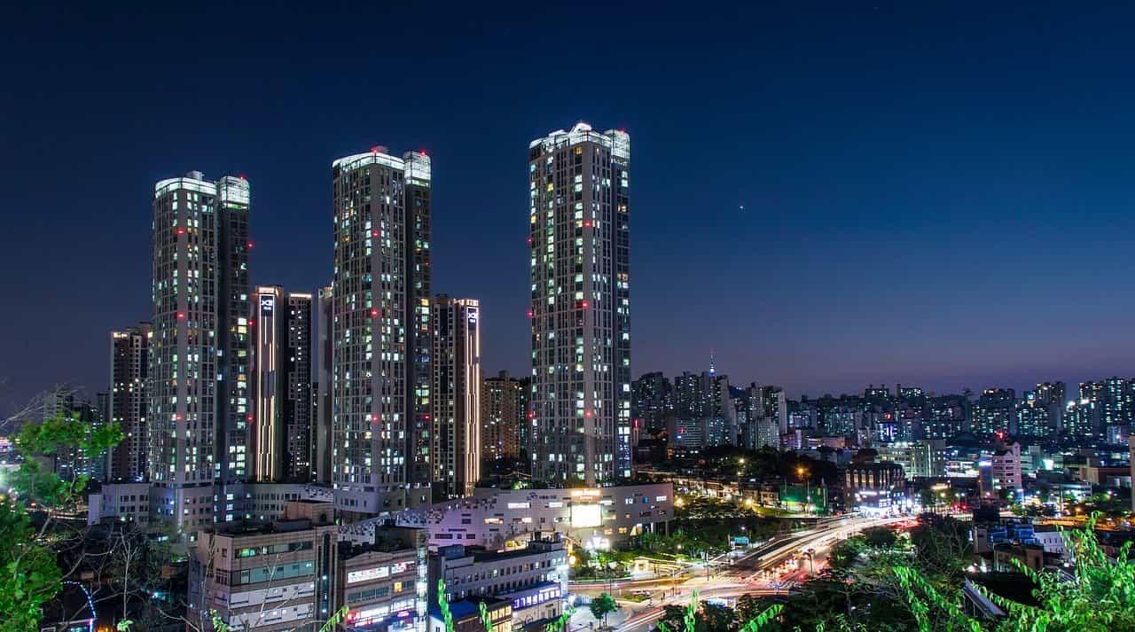 韓国の行政区分